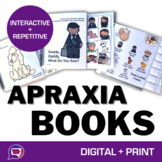 Interactive Books & Activities for Apraxia BUNDLE - CVCV,