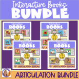Interactive Books- Articulation Big Bundle for speech and language therapy