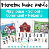 Interactive Books Bundle Speech Therapy