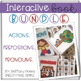 Interactive Books Bundle: Actions, Pronouns, Prepositions