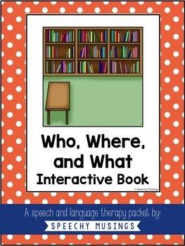 Interactive Books Bundle for SLPs