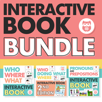 Interactive Books Bundle for SLPs