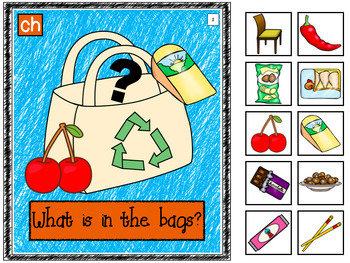 Interactive Books- For articulation- sh, ch, s & f