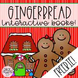 Interactive Books - Gingerbread FREEBIE!