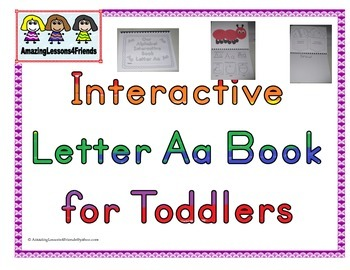 Interactive Books Letter Aa