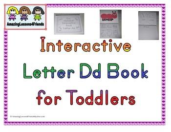Interactive Books Letter Dd