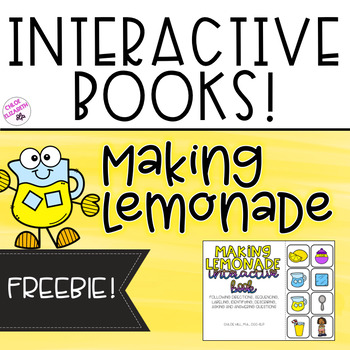 Interactive Books - Making Lemonade! (FREEBIE!)