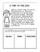 Interactive Notebooks: Nouns, Verbs, and Adjectives