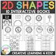 2D Shapes Interactive Book Bundle