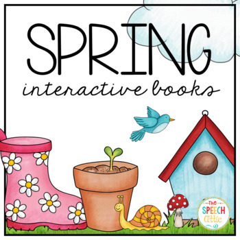 Interactive Books: Spring Bundle