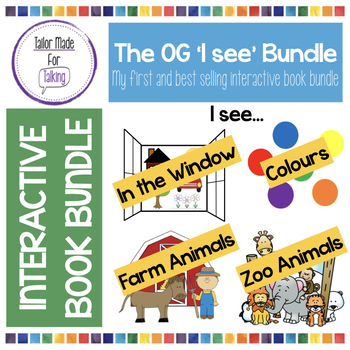 Interactive Book Bundle 'What do you see? I see...'