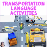 Transportation Interactive Books and Activities Speech Language