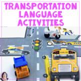 Transportation Interactive Books and Activities Speech Language
