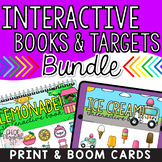 Interactive Books and Therapy Targets BUNDLE! DIGITAL & PRINT!