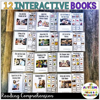 Interactive Books for Functional Sight Word Reading Comprehension in Life Skills