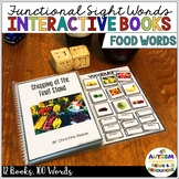 Interactive Books for Functional Sight Word Reading Compre