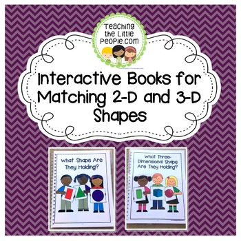Interactive Books for Matching and Identifying Shapes