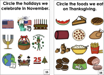 Interactive Books for Months Bundle-Calendar Year
