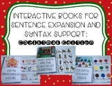 Interactive Books for Sentence Expansion and Syntax: Christmas