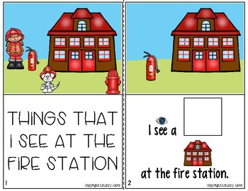 Interactive Books for Sentence Expansion and Syntax: Fire Safety