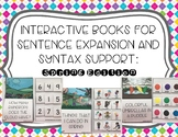 Interactive Books for Sentence Expansion and Syntax: Spring