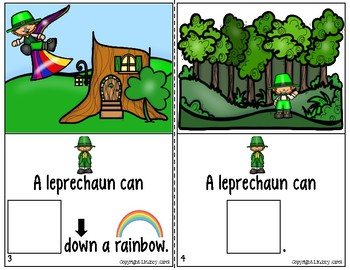 Interactive Books for Sentence Expansion and Syntax: St. Patrick's Day Edition