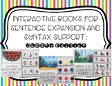 Interactive Books for Sentence Expansion and Syntax: Summer