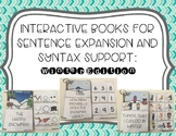 Interactive Books for Sentence Expansion and Syntax: Winter