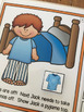 Interactive Books Set 1: with sequencing, basic directions