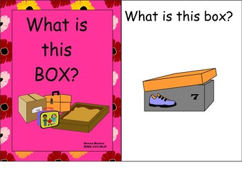 Interactive Boxes Activity