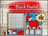 Interactive Brick Build: Following Directions Summer Editi