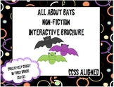 Interactive Brochure: Non-Fiction Research, All About Bats (CCSS Aligned)