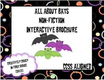 Interactive Brochure: Non-Fiction Research, All About Bats