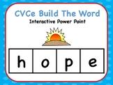 Interactive Build A CVCe Word