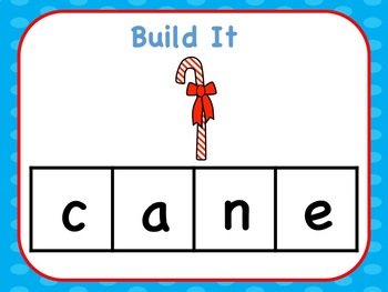 Interactive Build A CVCe Word