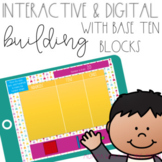 Interactive Building with Base Ten Blocks for Google Drive Classroom