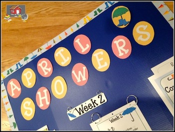 Interactive Bulletin Board:  April Showers Measurement
