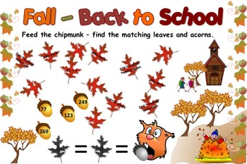 Interactive Bulletin Board - Back to School