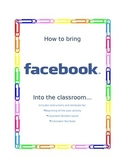 Interactive Bulletin Board - Beginning of the Year Activity - Facebook Yearbook