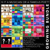 Interactive Bulletin Board Bundle: Is it a Musician or a F