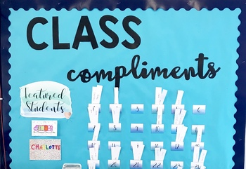 Interactive Bulletin Board - Classroom Compliments