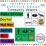 Interactive Bulletin Board for Community Helpers
