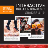 Interactive Bulletin Board EDITABLE | Community Building, SEL & Mental Health