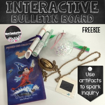 Interactive Bulletin Board Freebie For Sparking Inquiry In The Classroom