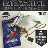 Interactive Bulletin Board Freebie For Sparking Inquiry In