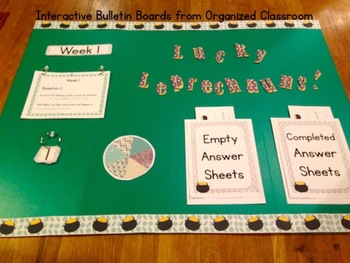Interactive Bulletin Board:  Lucky Leprechauns Probability