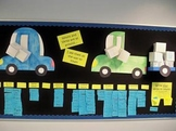 Interactive Bulletin Board: Nouns and Verbs Around Town!