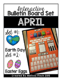 Interactive Bulletin Board Set- April