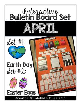 Interactive Bulletin Board Set- April