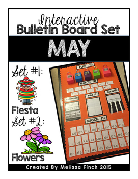 Interactive Bulletin Board Set- MAY